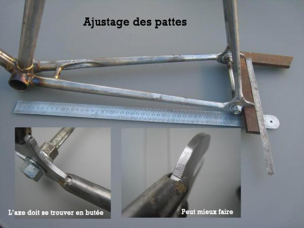 Monter mon fixie la greffe de pattes pistes bike caf - Comment fabriquer son fixie ...