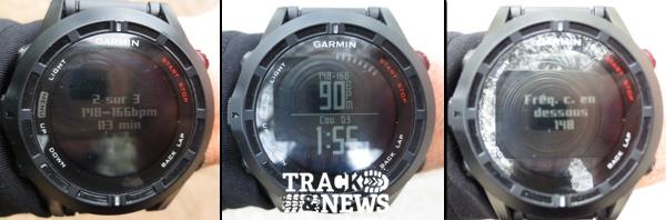 Test GARMIN Fenix 2 – Course à pied - Réalisation d'un entraînement planifié
