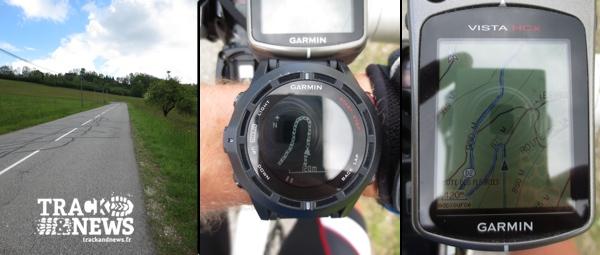 Test GARMIN Fenix 2 – Cyclisme - Navigation sur route