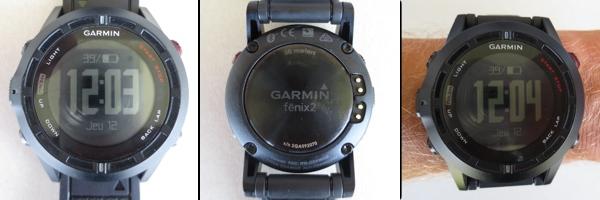 Test GARMIN Fenix 2 – Prise en main
