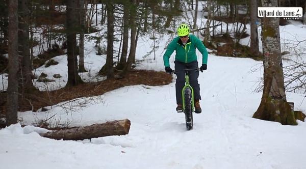 Fat Bike Villard-de-Lans et Corrençon-en-Vercors - Chirstophe Jobic, Directeur de VéloVert - ©OT Villard-de-Lans