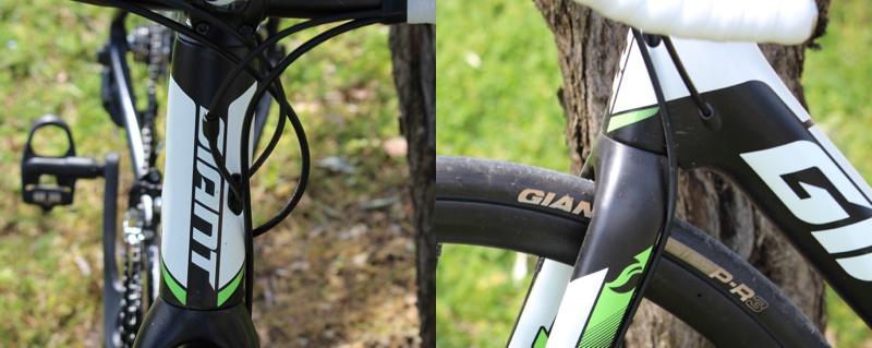 Test Giant Defy Advanced 2 - Passage de gaines - crédit photo © Track & News