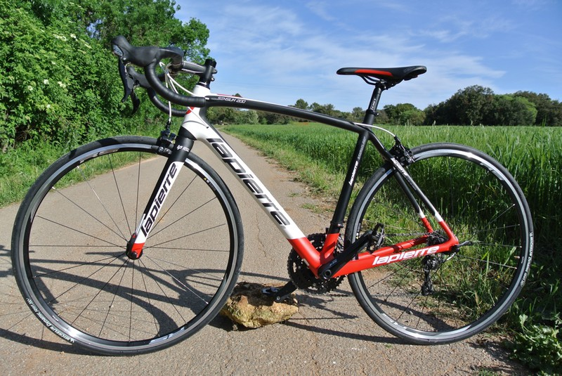 Test Lapierre Sensium 200 TP - crédit photo © Track & News