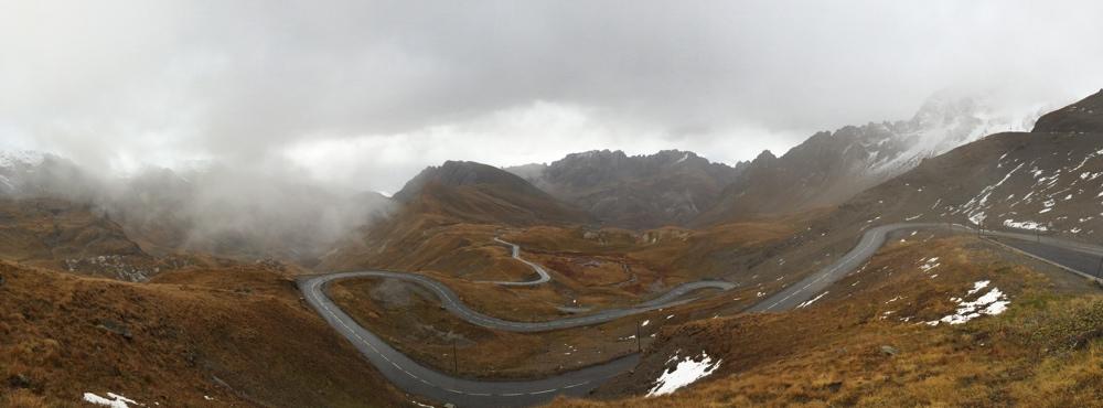 Col du Galibier - paysage automnal - crédit ©Fred Bousseau