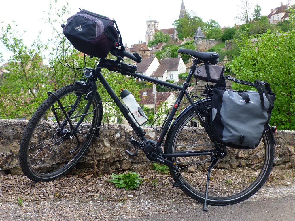 Le Pinion P 18 prêté par pour mon voyage en Bourgogne