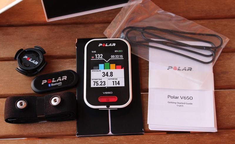 Polar V650 - crédit @ Track & News