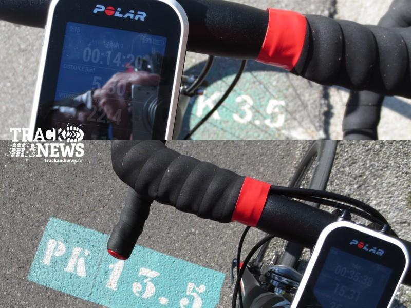 Polar V650 - Mesure de distance avec le GPS - crédit @ Track & News