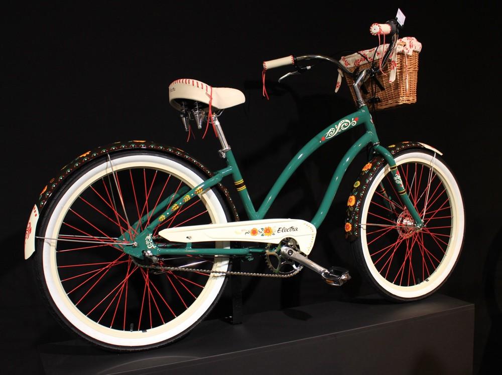 Eurobike 2015 - Vélo old-school Electra - © Track & News