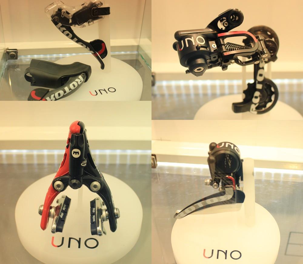 Eurobike 2015 - Arrivée du groupe 100% Hydraulique UNO par ROTOR.