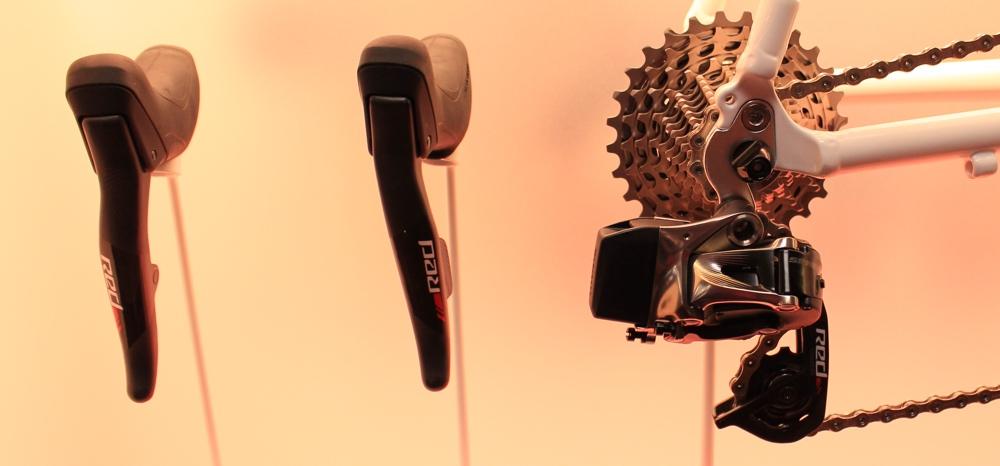 Eurobike 2015 - SRAM Red sans-fil.
