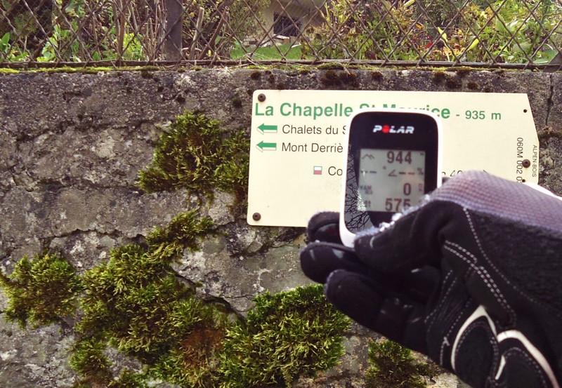 Test du compteur GPS vélo Polar M 450 - Altimétrie - © Track & News