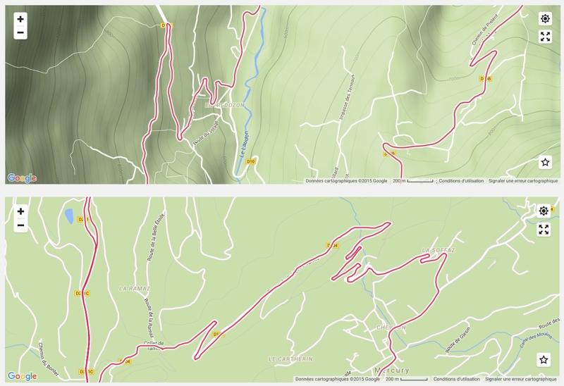 Test du compteur GPS vélo Polar M 450 - Qualité de la trace GPS - © Track & News