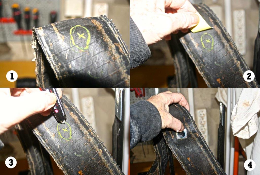 r paration crevaison du tubeless gravel pour les nuls bike caf. Black Bedroom Furniture Sets. Home Design Ideas