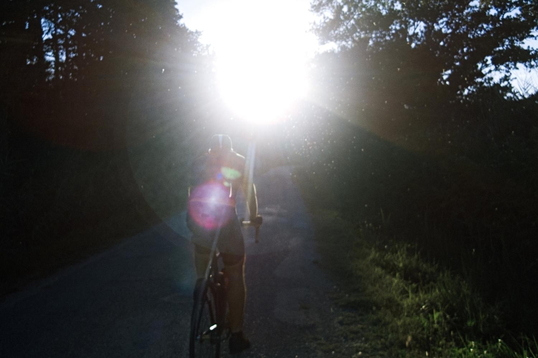 Le cyclisme comme toute pratique outdoor met en contact avec d'énormes quantités de pollens - photo Dan de Rosilles