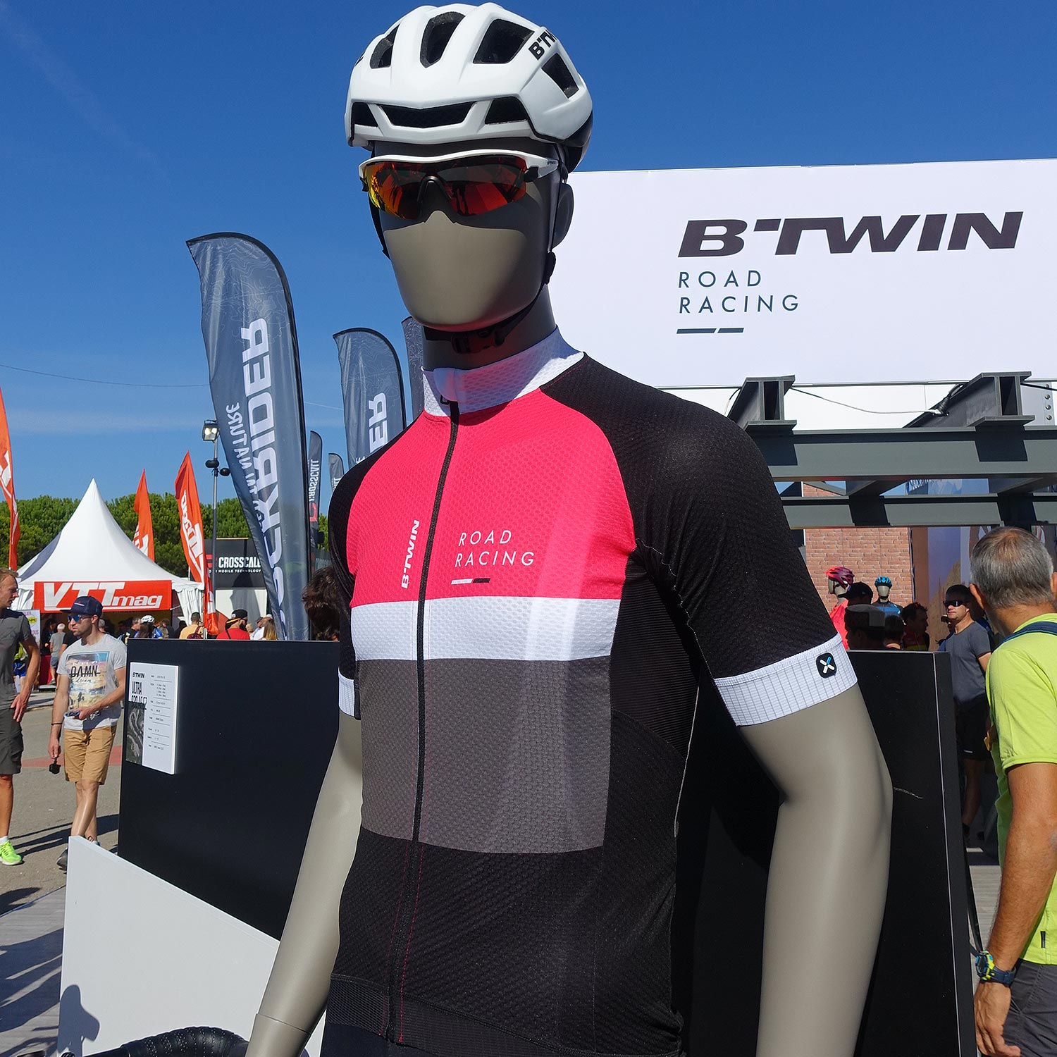 Maillot B'Twin 900 Road Cycling