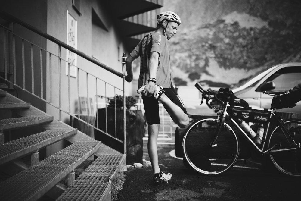 Pas de directeur sportif ni de masseur sur la TCR - photo James Robertson