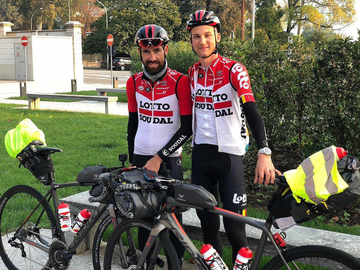 Les cyclistes pros et le bike packing