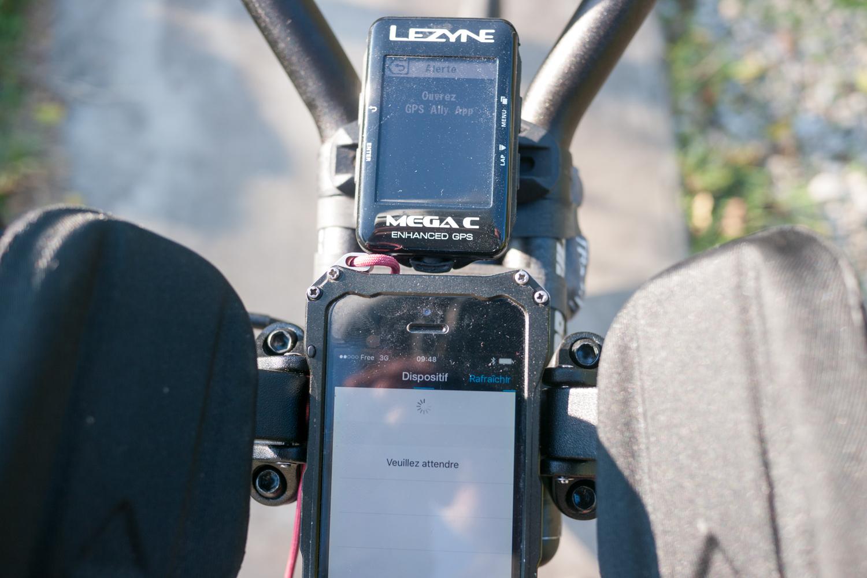 test GPS Lezyne Mega C