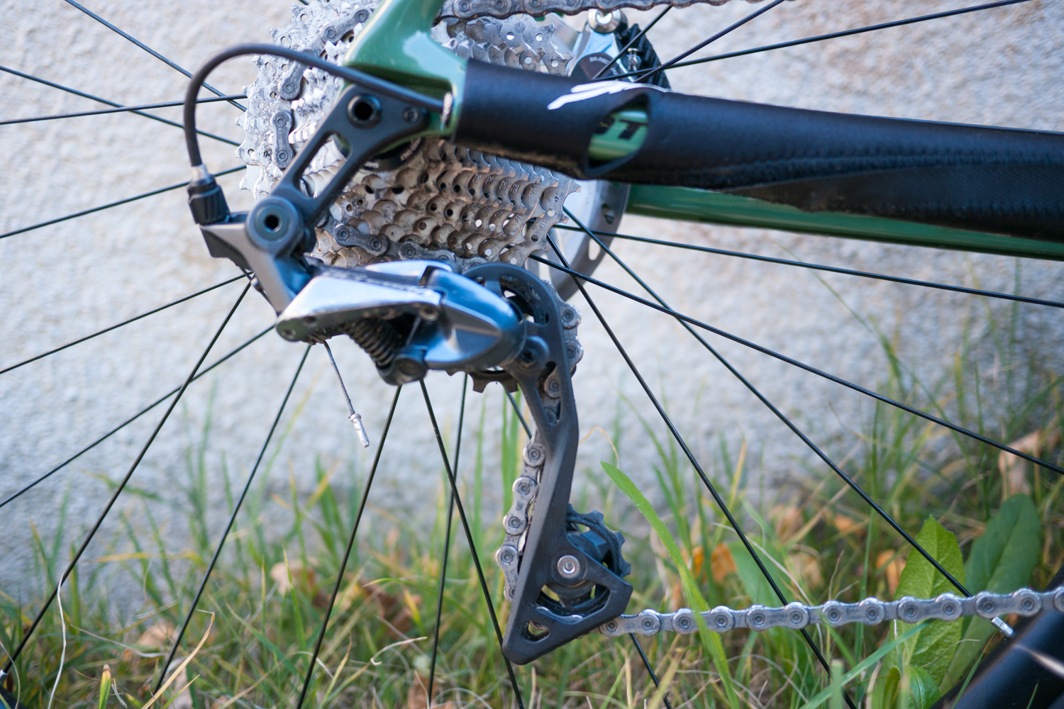 Scott Addict Gravel 20 rear derailleur test review