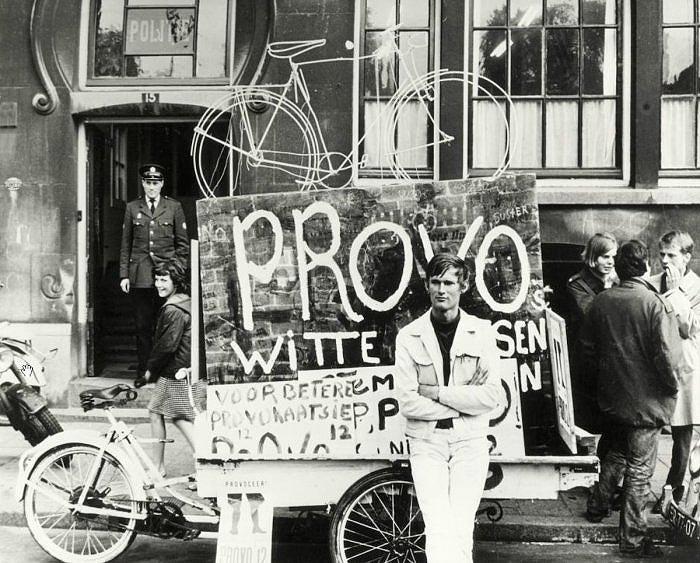 Provo vélos blancs