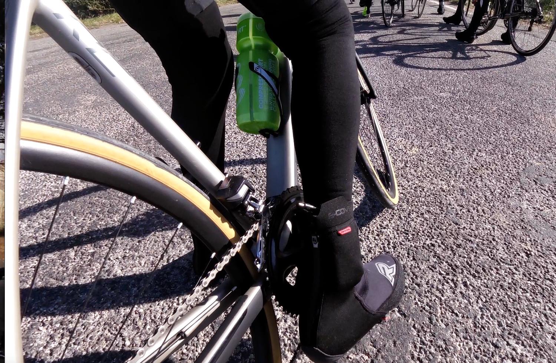 E-Cover Racer sur-chaussures chauffantes pour le vélo