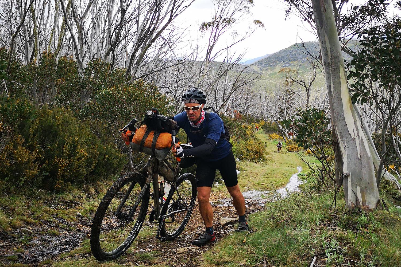 Hunt 1000 bikepacking