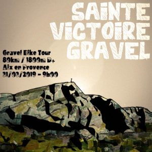 Gravel Sainte Victoire @ Parking piscinne Yves Blanc