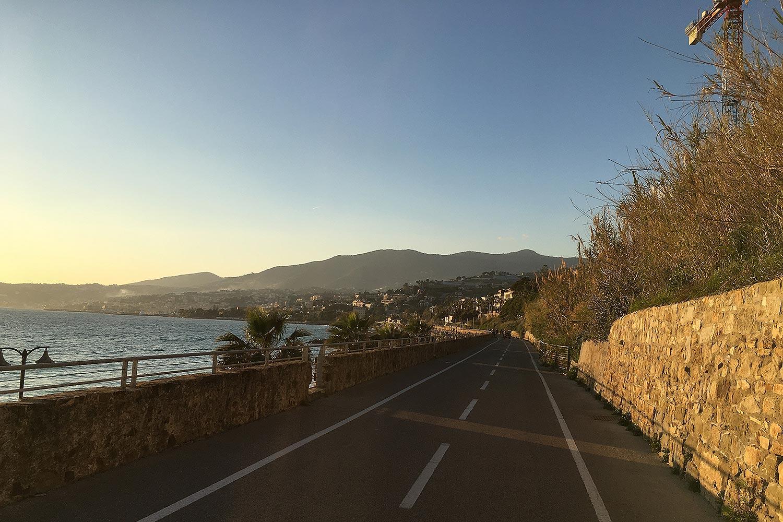 Bici Espresso » : La piste cyclable de la Rivera Dei Fiori