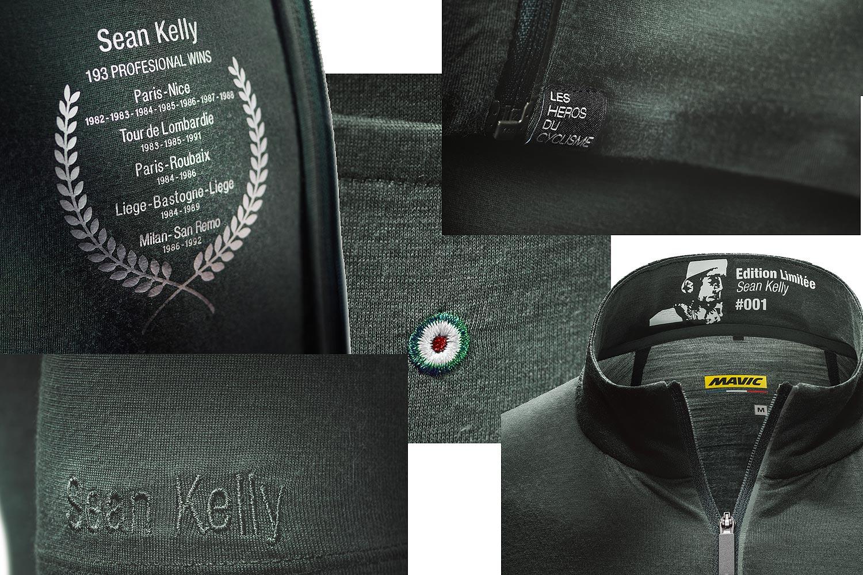Les Héros du Cyclisme Mavic - Sean Kelly