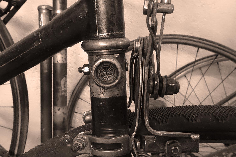 Vélo Automoto de la collection de Lino Lazzerini