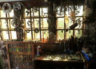 Cabinet de curiosité vélo