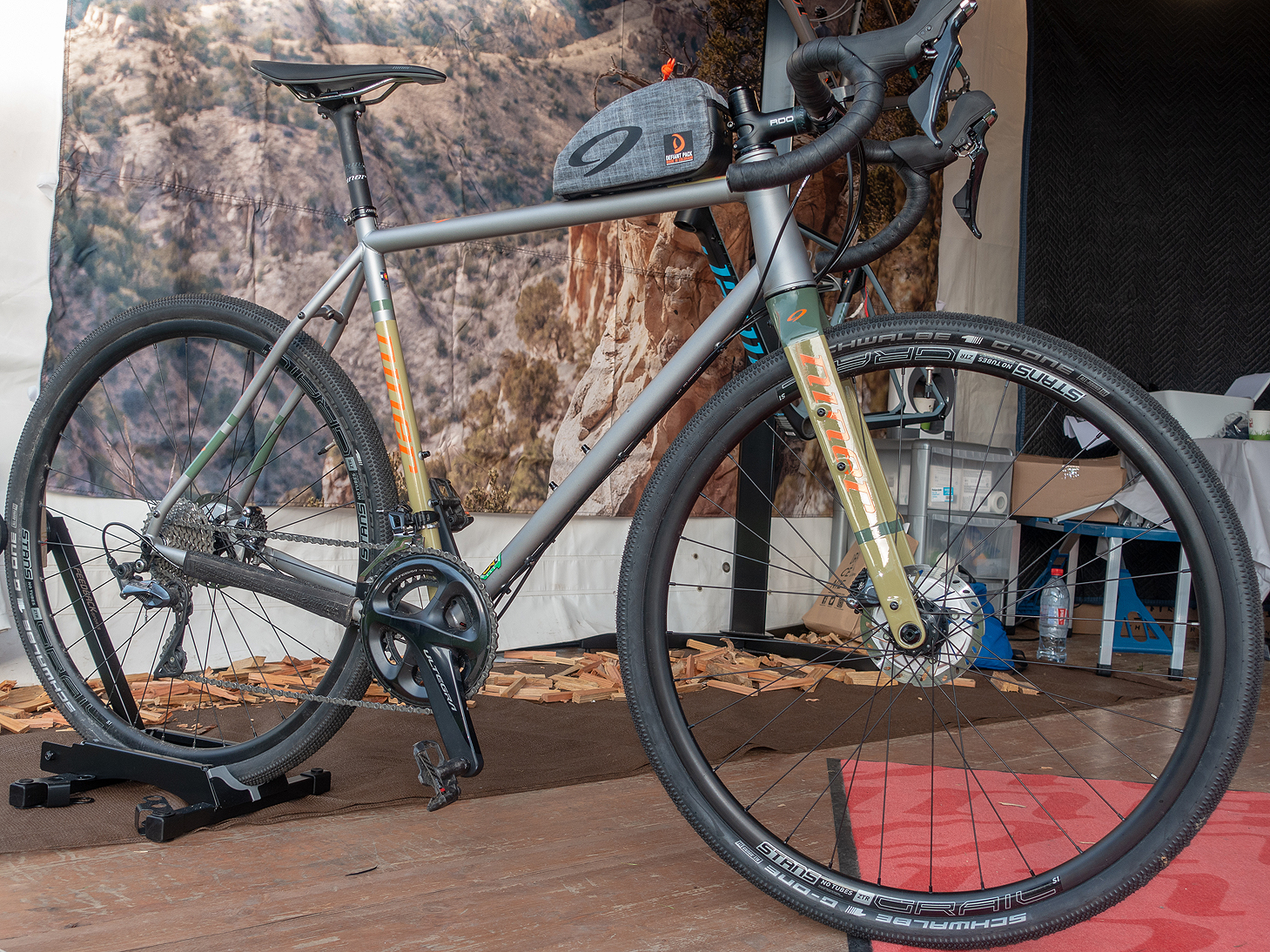 Test du gravel Niner RLT9 Steel