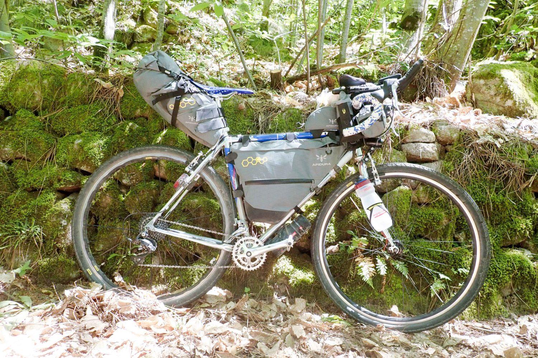 Test Apidura Backcountry bikepacking review Apidura gravel