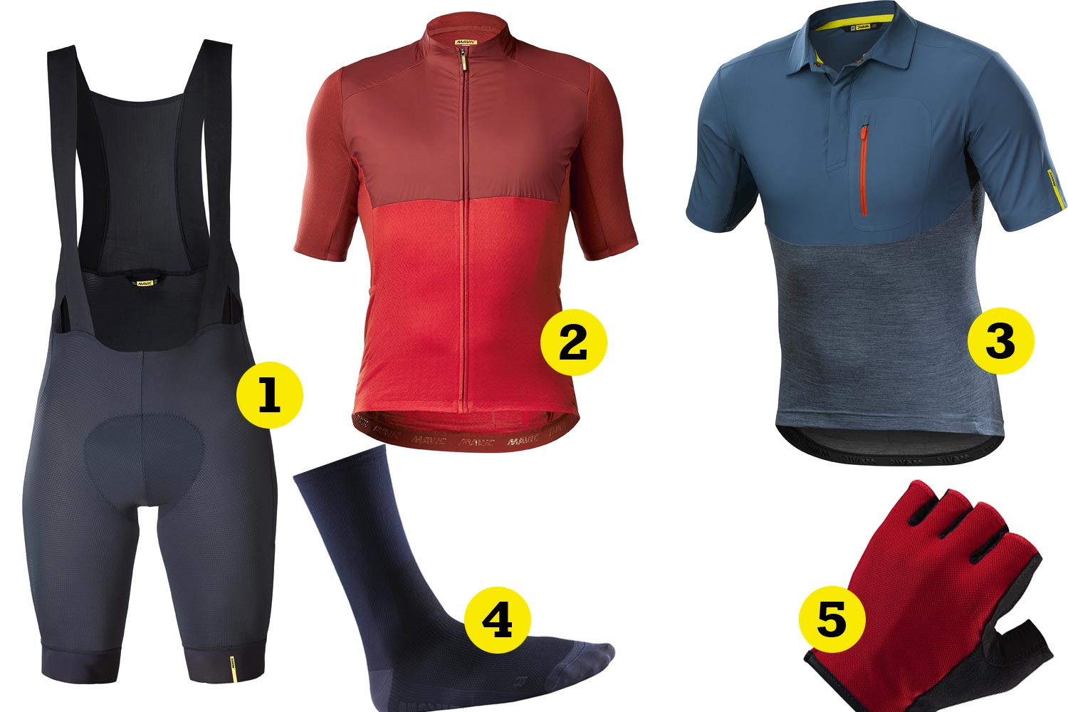 Mavic Allroad apparels