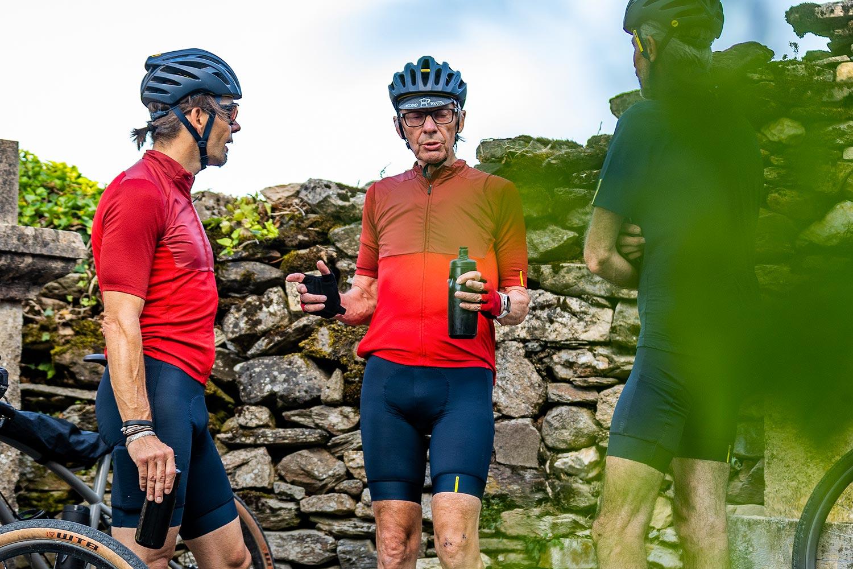Deux jours de vélo avec ce super cuissard ... Caméra d'un côté et appareil photo de l'autre ... photo Mavic