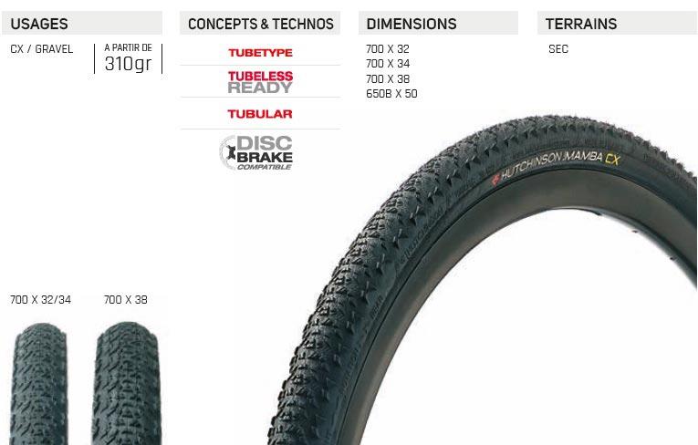 Test du pneu de gravel Black Mamba de Hutchinson
