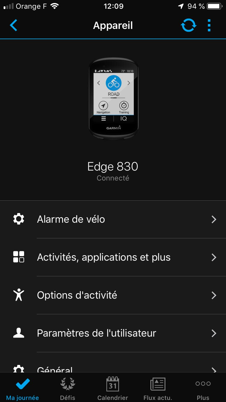 Test Garmin Edge 830