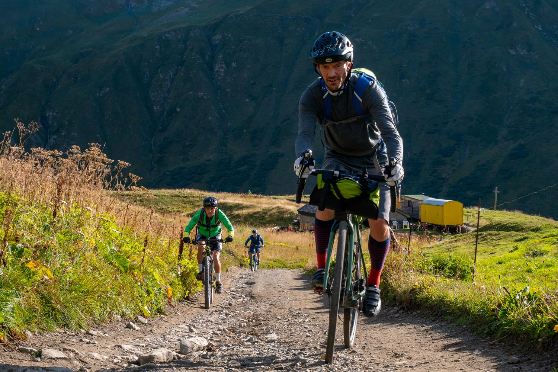 Tour du Mont Blanc en Gravel