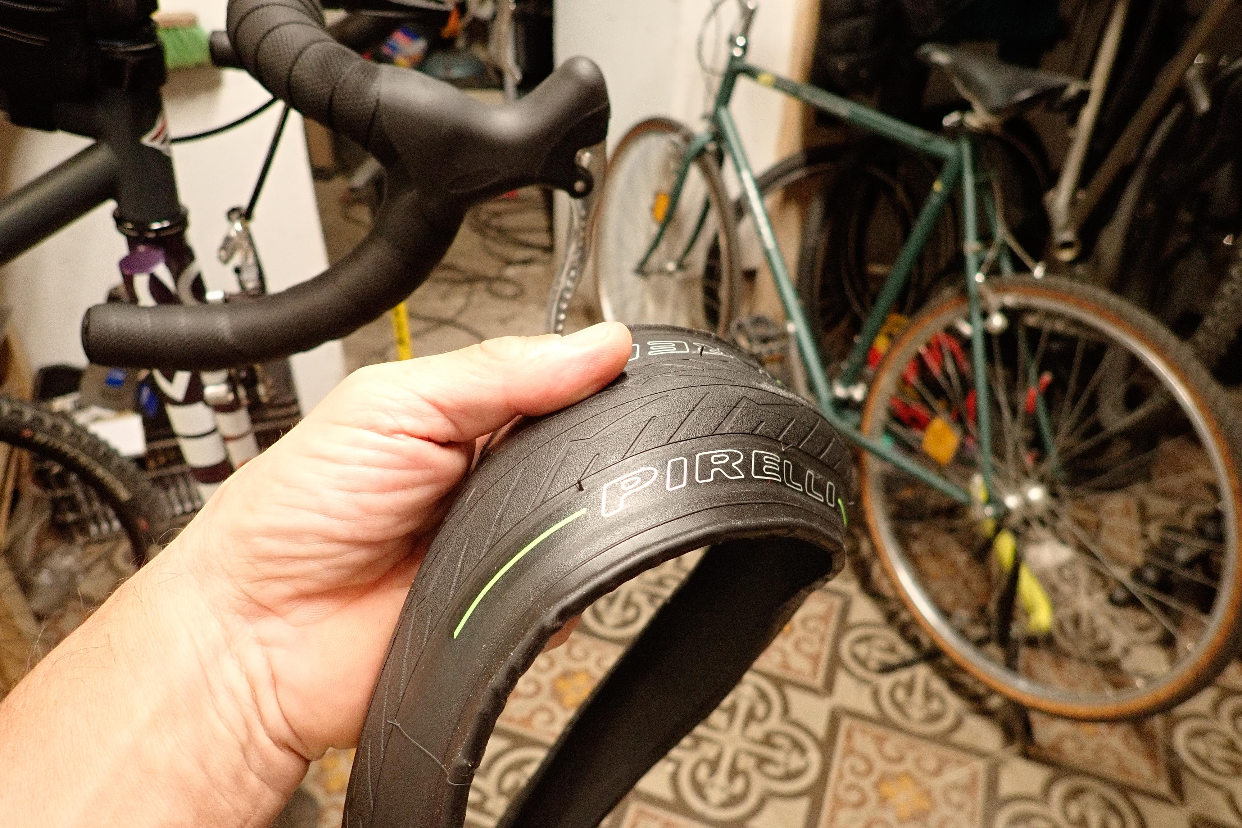 Pirelli Cinturato Velo Allroad Gravel cycling long distance tyre tire