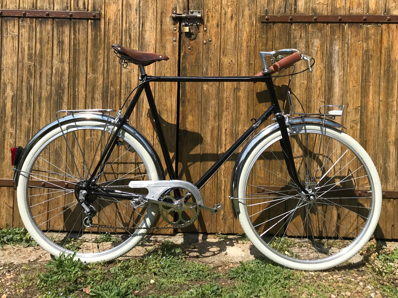 La Bicyclette de Graham, restauration d'un Motobécane