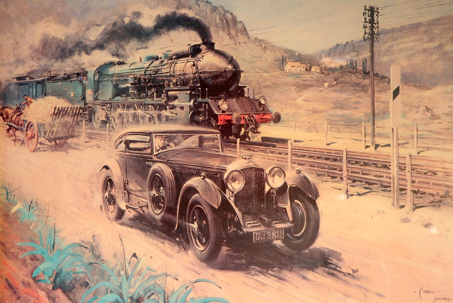 Chilkoot Blue Train Historic Race