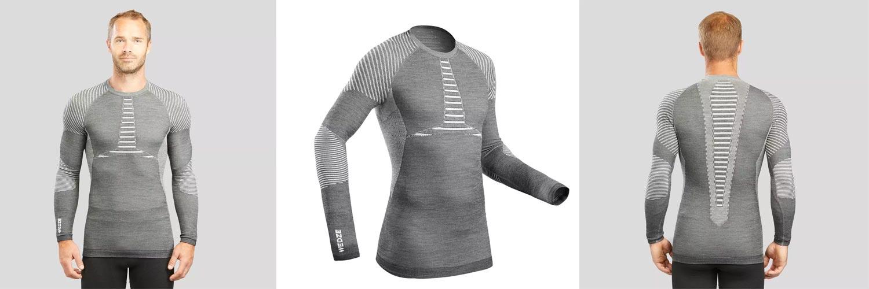 Sous-vêtement haut 900X-WARM Decathlon