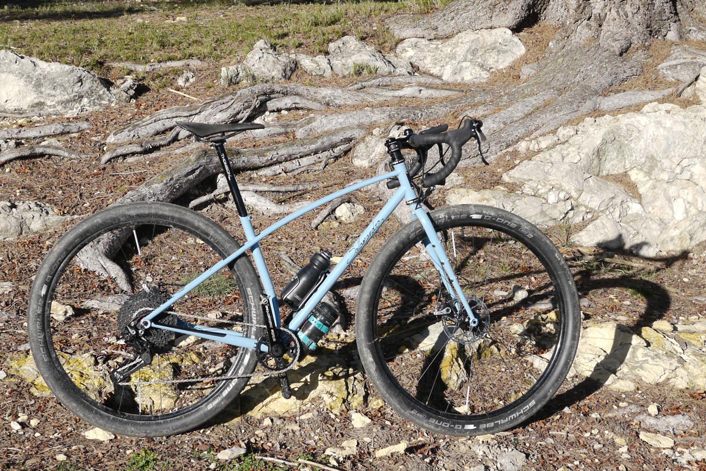 Salamandre cycles monster gravel bike hybrid
