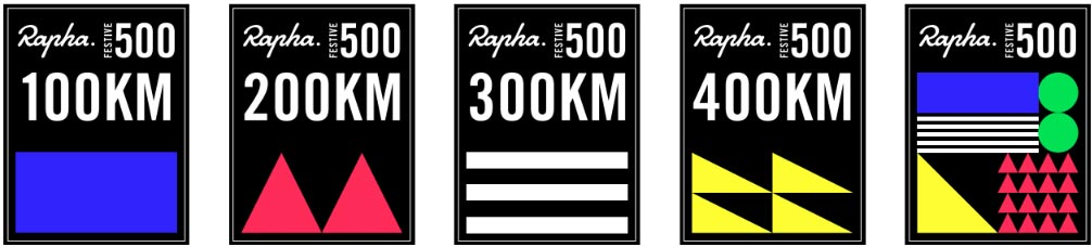 Rapha Festive 500 cycling adventure