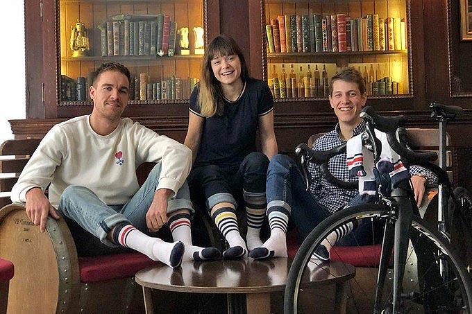 Chaussettes de vélo Pente Douce