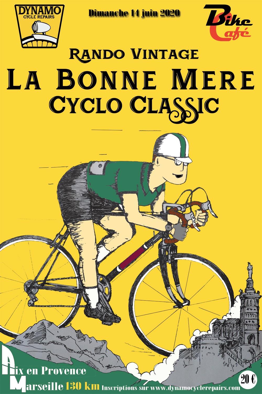 La Bonne Mère Classic rando vélo rétro