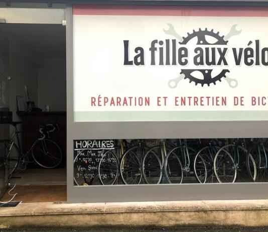 La Fille aux Vélos