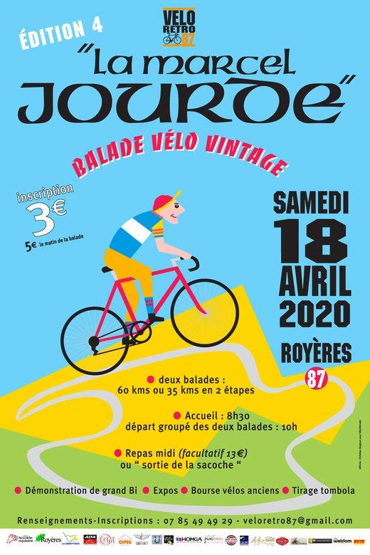 La Marcel Jourde rando vélo rétro