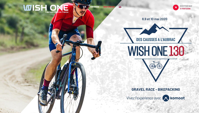 WishOne 130 gravel en Aveyron