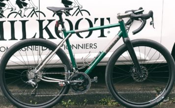Chiru Chilkoot le nouveau modèle road longue distance de Chiru Bikes
